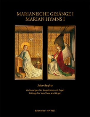 Hymnes Marials volume 1 Partition Mélodies - laflutedepan