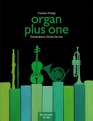 Organ Plus One Carsten Klomp Partition Orgue - laflutedepan
