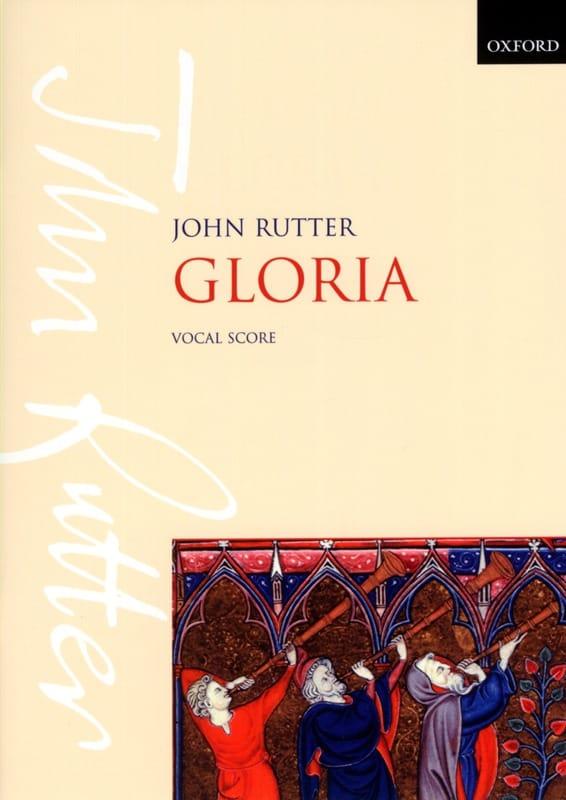 Gloria - RUTTER - Partition - Chœur - laflutedepan.com