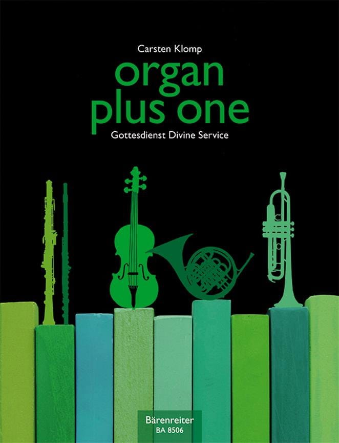 Organ Plus One - Carsten Klomp - Partition - Orgue - laflutedepan.com