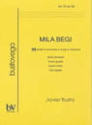 Mila Begi - Javier Busto - Partition - Chœur - laflutedepan.com