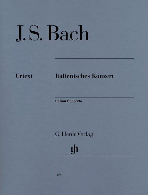Concerto Italien - BACH - Partition - Piano - laflutedepan.com