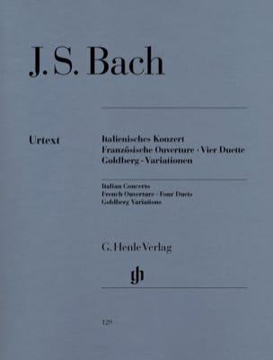 Concerto Italien, Ouverture Française, Quatre Duos, Variations Goldberg laflutedepan