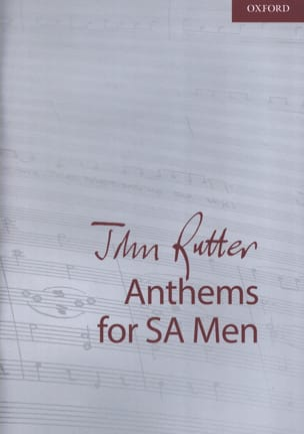 Anthems RUTTER Partition Chœur - laflutedepan