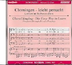 Messe En Sol Majeur D 167. CD Soprano CHOEUR - laflutedepan.com