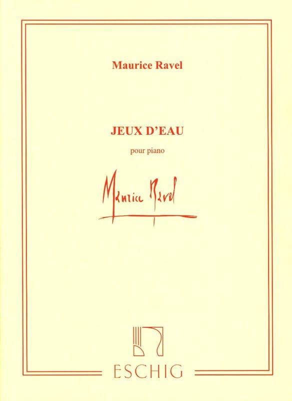 Jeux D'eau - RAVEL - Partition - Piano - laflutedepan.com