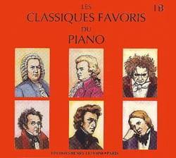 Classiques Favoris Volume 1B. 2 CD Partition Piano - laflutedepan