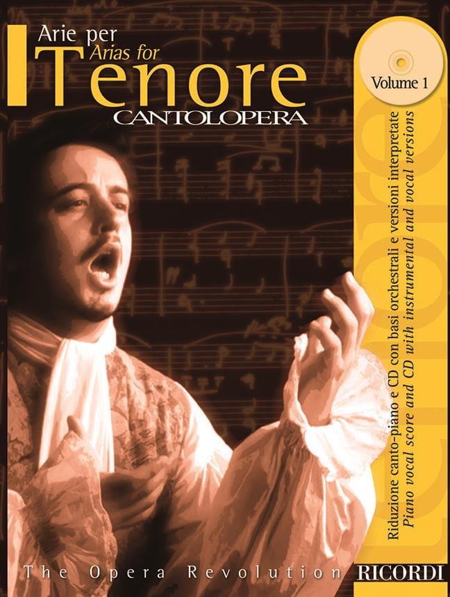 Arie Per Tenore Volume 1 - Partition - Opéras - laflutedepan.com