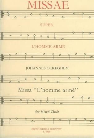 Messe de L'homme Armé Johannes Ockeghem Partition Chœur - laflutedepan