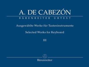Ausgewählte Werke Fûr Tasteninstrumente Volume 3 laflutedepan