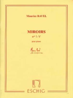 Miroirs - RAVEL - Partition - Piano - laflutedepan.com