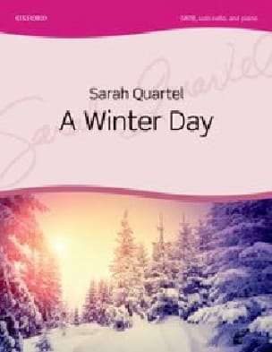 A Winter Day - Sarah Quartel - Partition - Chœur - laflutedepan.com