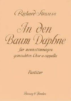 An Den Baum Daphne Richard Strauss Partition Chœur - laflutedepan