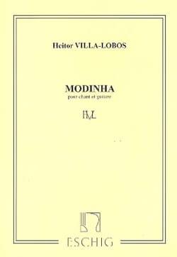 Modinha VILLA-LOBOS Partition Guitare - laflutedepan