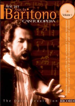 Arie Per Baritono Volume 1 Partition Opéras - laflutedepan