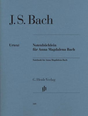 BACH - Anna Magdalena Bach's Little Book - Partition - di-arezzo.it