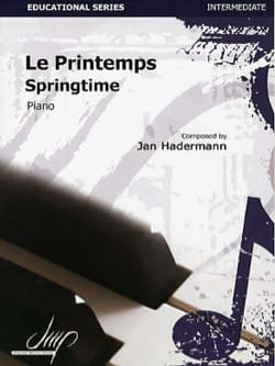 Le Printemps Jan HADERMANN Partition Piano - laflutedepan
