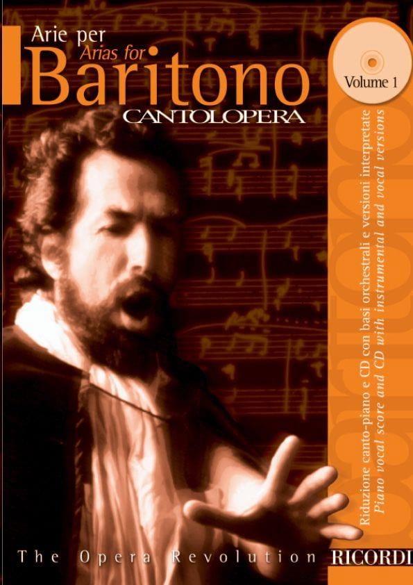 Arie Per Baritono Volume 1 - Partition - Opéras - laflutedepan.com
