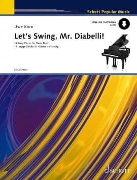 Let's Swing, Mr Diabelli. 4 Mains - Uwe Korn - laflutedepan.com