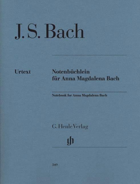Petit Livre d'Anna Magdalena Bach - BACH - laflutedepan.com