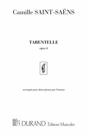 Tarentelle Op. 6 - 2 Pianos - SAINT-SAËNS - laflutedepan.com