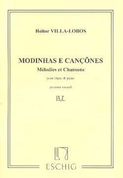 Modinhas E Cancoes. Volume 1 VILLA-LOBOS Partition laflutedepan