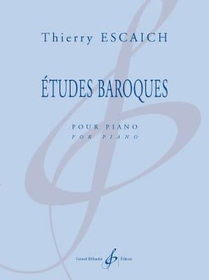 Etudes baroques - Thierry Escaich - Partition - laflutedepan.com