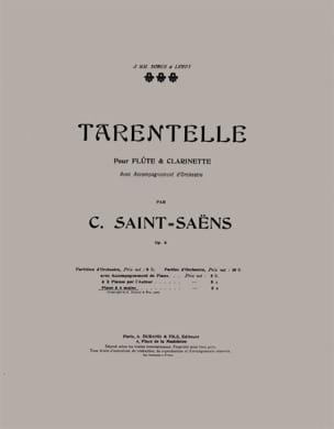 Tarentelle - 4 Mains SAINT-SAËNS Partition Piano - laflutedepan