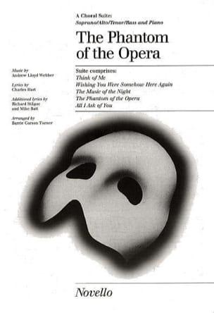 The Phantom Of The Opera : Choral Suite - laflutedepan.com