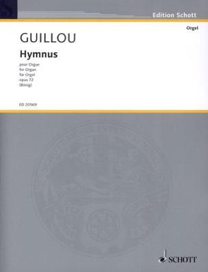 Hymnus Op. 72 - Jean Guillou - Partition - Orgue - laflutedepan.com