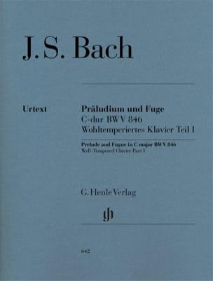 Prélude et Fugue En Do Majeur BWV 846 BACH Partition laflutedepan