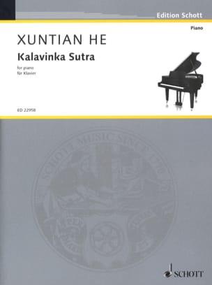 Kalavinka Sutra Xuntian He Partition Piano - laflutedepan