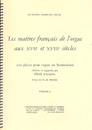 Les Maîtres Français De L'orgue Volume 1 - laflutedepan.com
