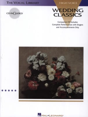 Wedding Classics. Voix Haute Partition Recueils - laflutedepan