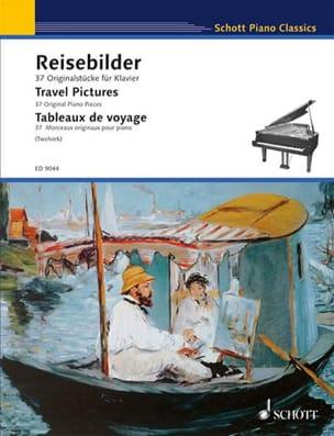 Tableaux de Voyage Partition Piano - laflutedepan