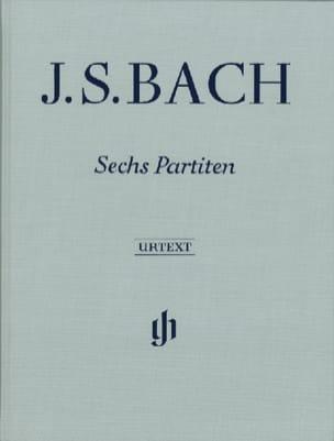 6 Partitas - Edition Reliée BACH Partition Piano - laflutedepan