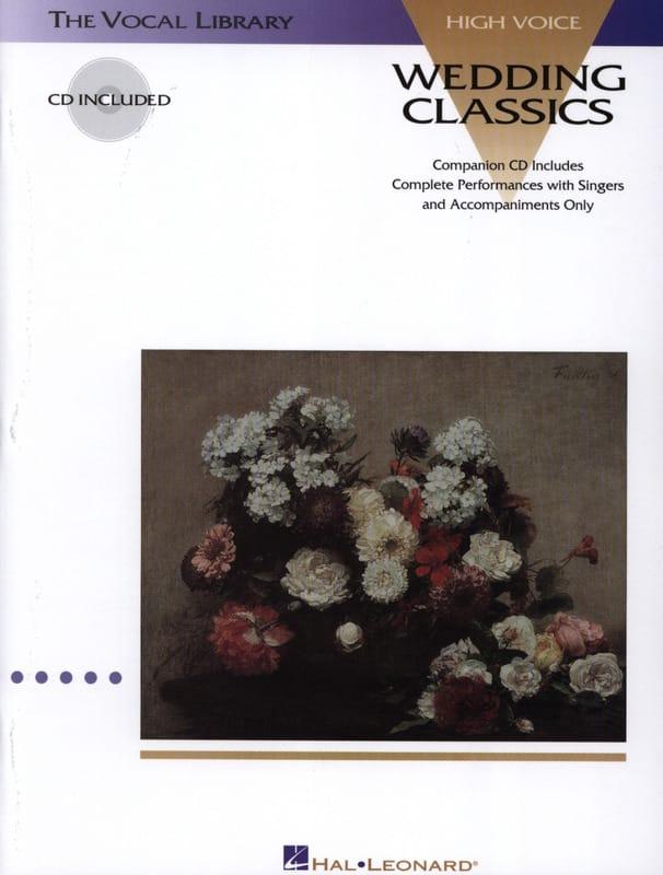 Wedding Classics. Voix Haute - Partition - laflutedepan.com