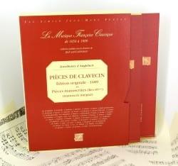 Jean-Henry d' Anglebert - Pièces De Clavecin et Pièces Manuscrites - Partition - di-arezzo.fr