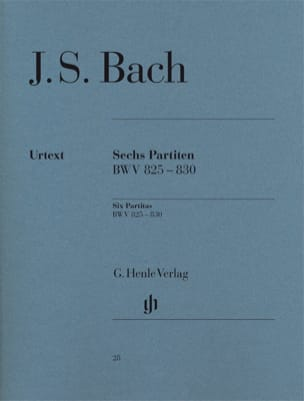 BACH - 6 Partite - Partition - di-arezzo.it