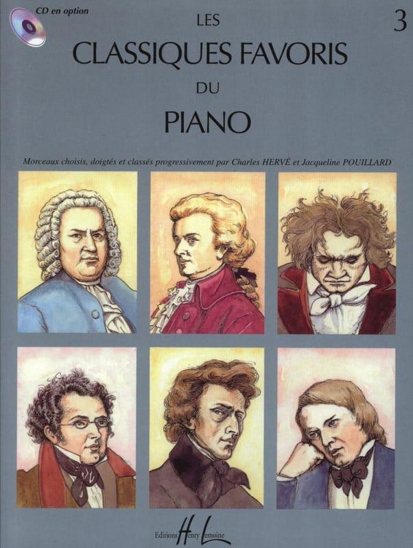 Classiques Favoris Volume 3 - Partition - Piano - laflutedepan.be