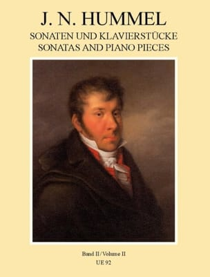 Sonaten und Klavierstücke, Band II - HUMMEL - laflutedepan.com
