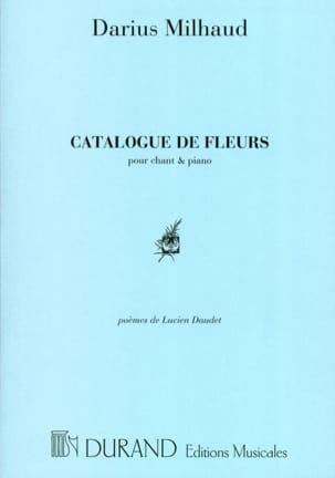 Catalogue de Fleurs MILHAUD Partition Mélodies - laflutedepan