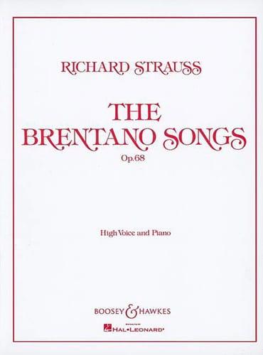 Brentano Lieder Opus 68. Voix Haute - laflutedepan.com