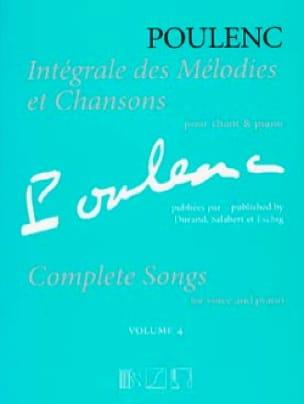 Intégrale des mélodies et chansons. Volume 4 - laflutedepan.com