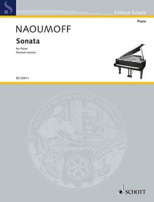Sonata Emile Naoumoff Partition Piano - laflutedepan