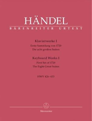 Oeuvre pour piano Volume 1 HAENDEL Partition Piano - laflutedepan