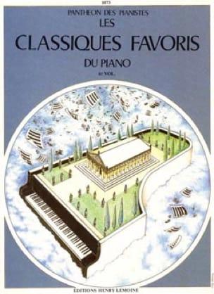 Classiques Favoris Volume 6 - Partition - Piano - laflutedepan.com