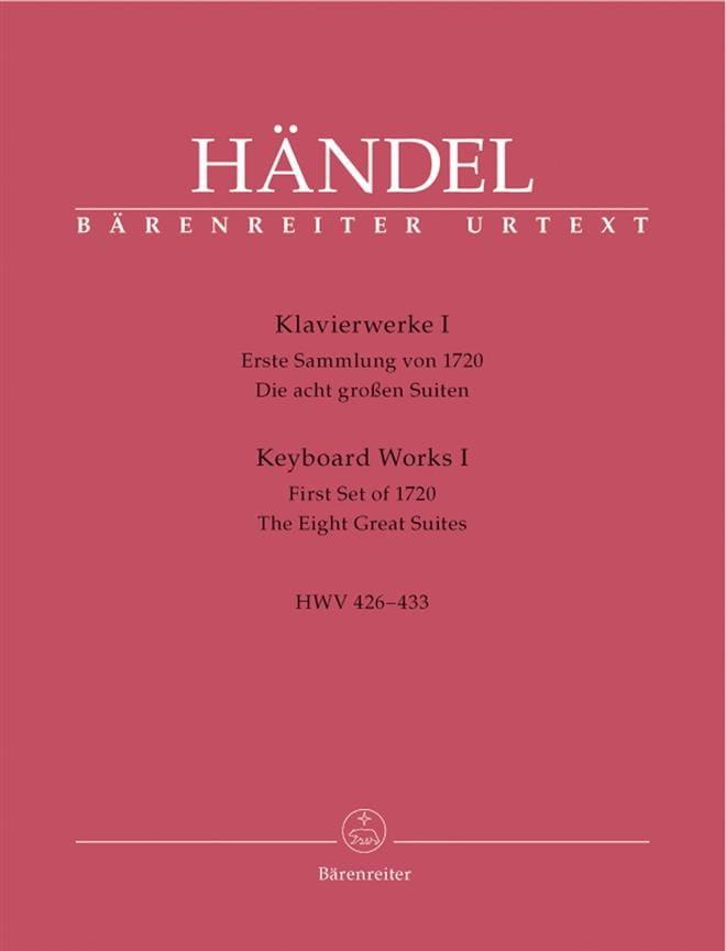 Oeuvre pour piano Volume 1 - HAENDEL - Partition - laflutedepan.com