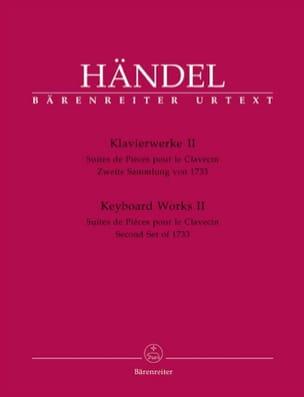 Oeuvre pour piano Volume 2 HAENDEL Partition Piano - laflutedepan