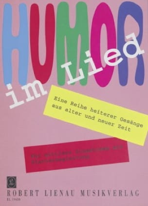 Humor Im Lied - Partition - Mélodies - laflutedepan.com